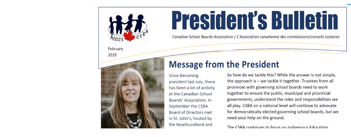 CSBA Bulletin