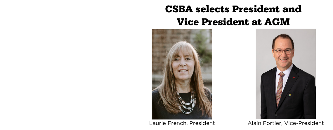 CSBA selects President and Vice President at AGM