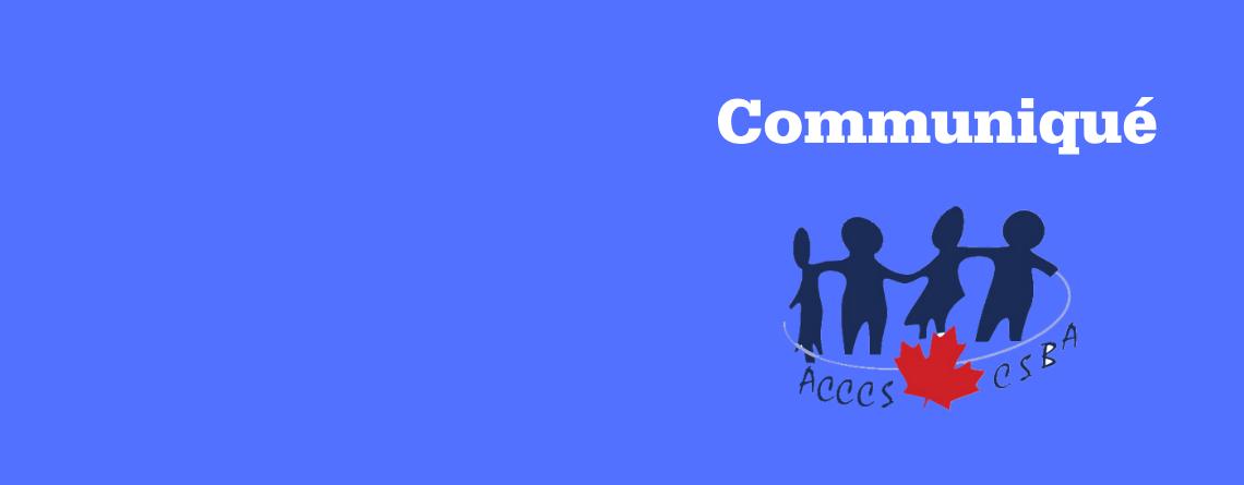 L'ACCCS applaudit la décision du gouvernement de l'Î.-P.-É. de rétablir les commissions scolaires les commissions scolaires