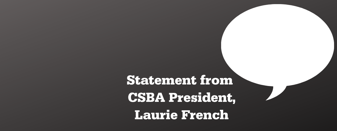 Statement from CSBA President in response to Quebec Government's Intent to Abolish French Governing School Boards