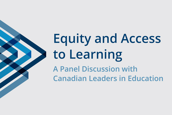 Recording now available (Equity and Access to Learning)